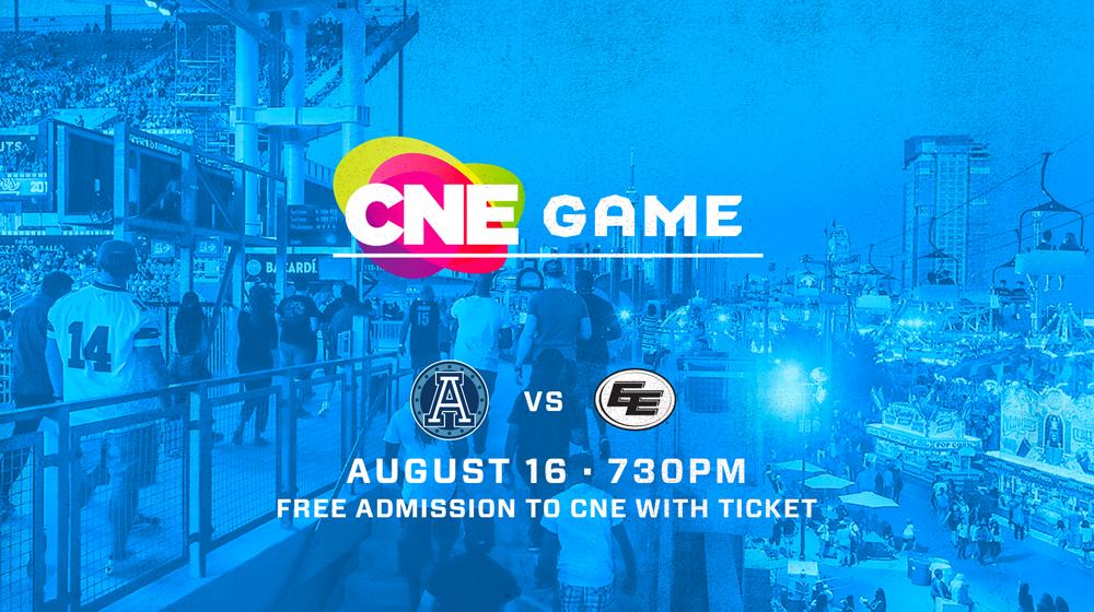 Toronto Argonauts vs. Edmonton Eskimos