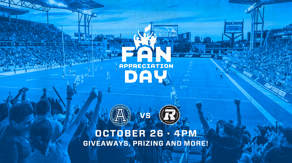 More Info for Toronto Argonauts vs. Ottawa Redblacks