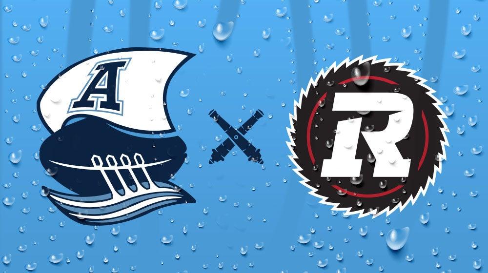 Toronto Argonauts vs. Ottawa Redblacks
