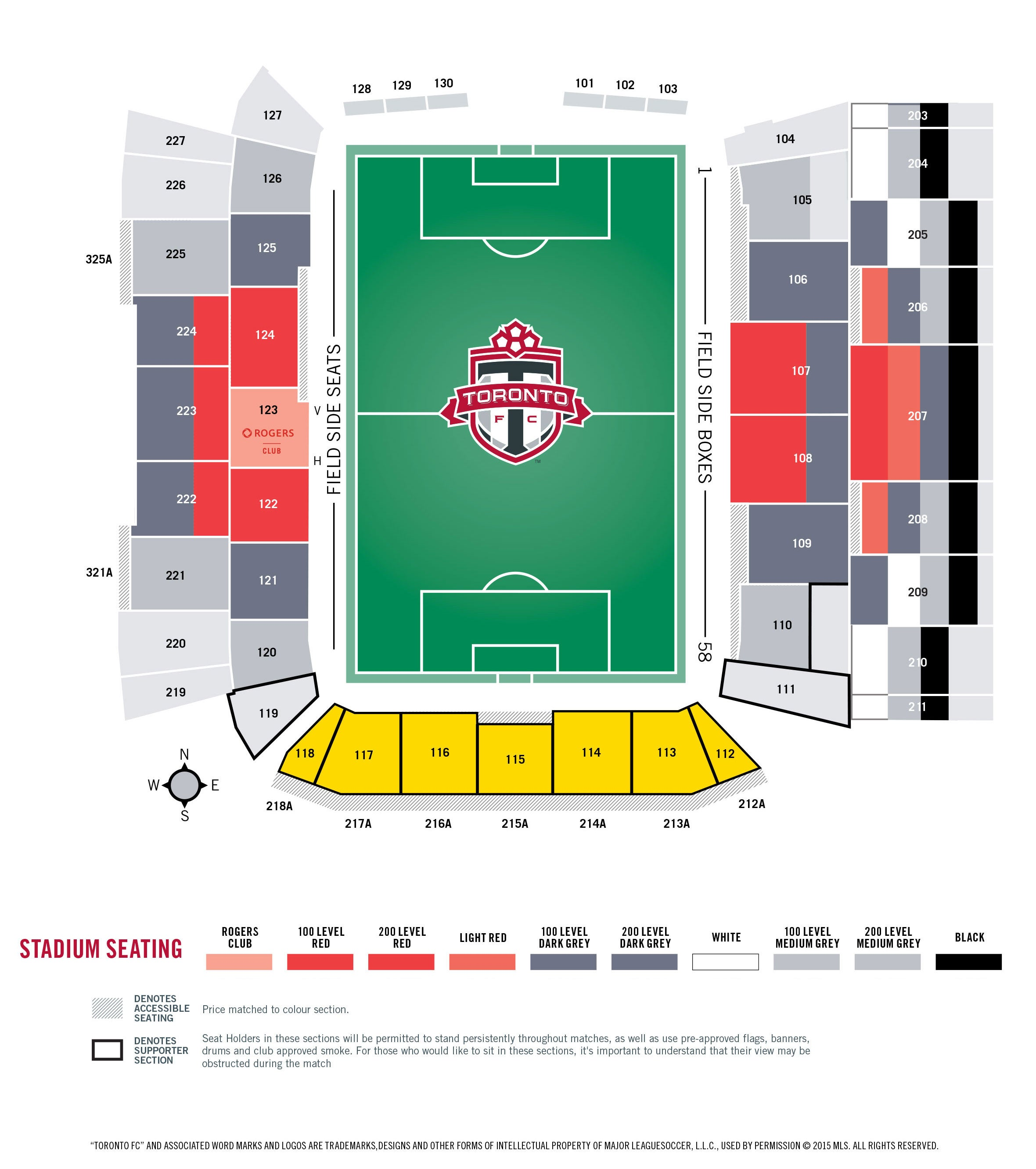Seating Charts | BMO Field